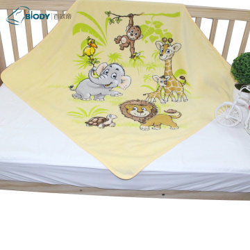 Renewable Design for Terry Baby Blanket Bibs Swaddle Disposable thick Terry kid Blanket export to Italy Suppliers