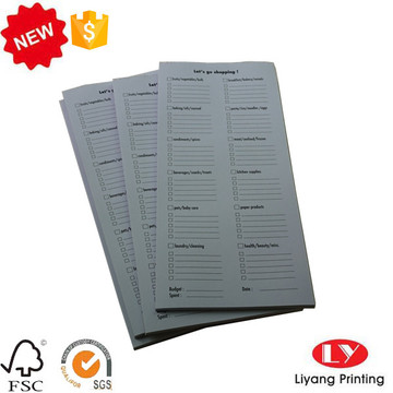 Cheap notepad customized printing