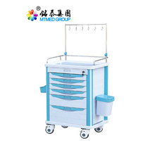 Clinic medical infusion cart