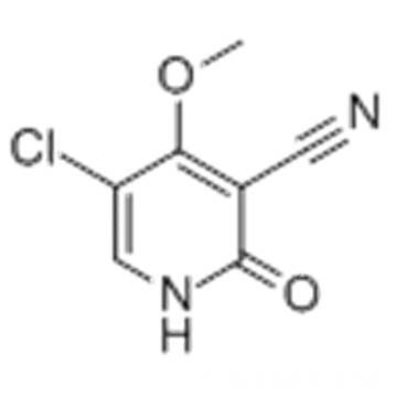 3-Pyridinecarbonitrile,5-chloro-1,2-dihydro-4-methoxy-2-oxo- CAS 147619-40-7