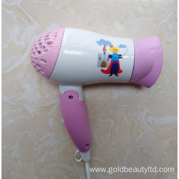 1200W Brand-New Designed Cartoon Images Children Hairdryer