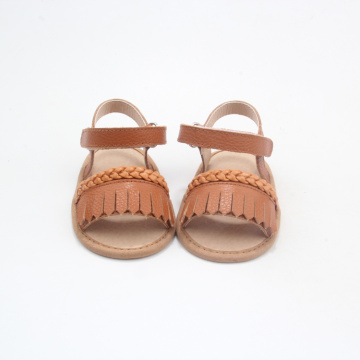 Wholesale Fringe Kids Sandals Girls Moccasins Shoes