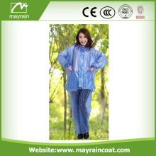 PVC Waterproof Rain suit of Jacket and Pants
