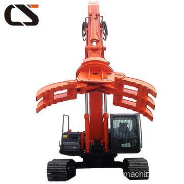 Heavy duty hydraulic rotating grapple 30T for mining