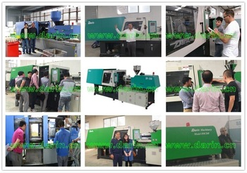 Pet grinding stick injection molding machine