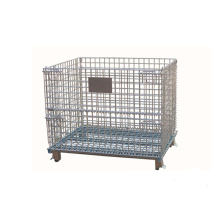 Warehouse Metal Storage Cage with Wheels