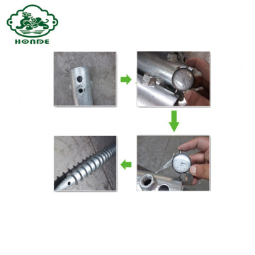 Ground Screw For Park And City Building