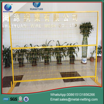 mobile wire fence steel crowd control barrier