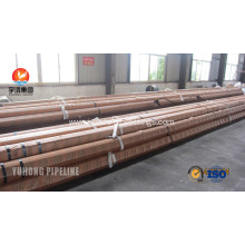 Factory Supply Factory price for Alloy P22 Steel Pipe ASTM A209 Carbon Steel Seamless Boiler Tube GR. T1 supply to Nigeria Exporter