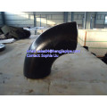 black painting carbon steel butt weld seamless elbow