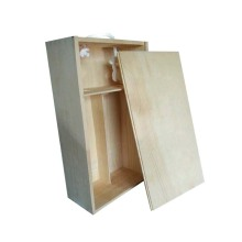 Special for Empty Wooden Wine Gift Box Solid Wood Packaging Wine Box export to Italy Wholesale