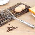 Kitchen products rotate stainless steel whisk eggbeater