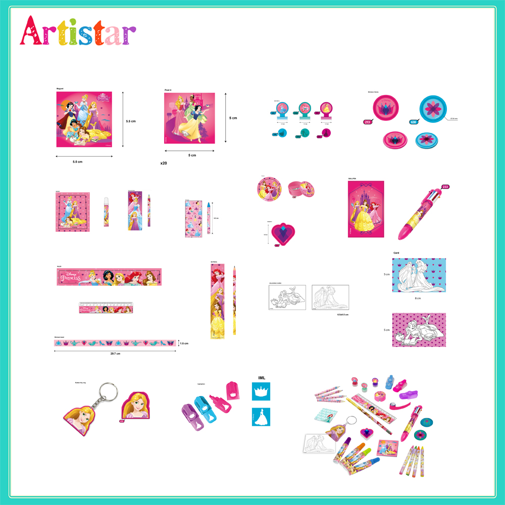 Disney Princess 24 Surprised Gifts Creativity Set 02
