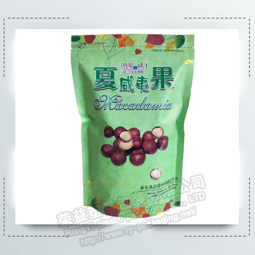 Green Color Packaging Bags