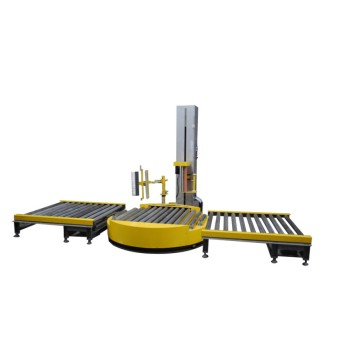 packing line type automatic pallet stretch wrapping machine