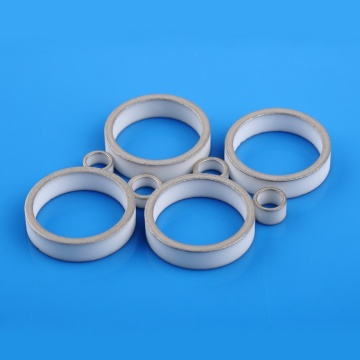 Alumina Metallized Ceramic Ring for Electrical Components