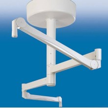 Veterinary surgical light mechanical arm