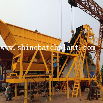 40 Wet Portable Concrete Batch Plant