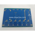 Blue Solder Mask Multilayer ENIG PCB Circuit Board