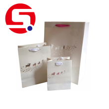 Special for China Paper Shopping Bags, Custom Paper Bags, Coloured Paper Bags With Handles Factory Wholesale white gift paper bags cheap supply to Germany Supplier