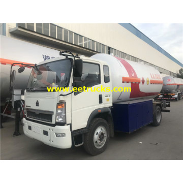 5000 Litres 4x2 Propane Dispenser Tank Trucks
