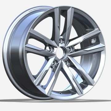 Small Size VW Wheel 15X6.5 5X112 Silver
