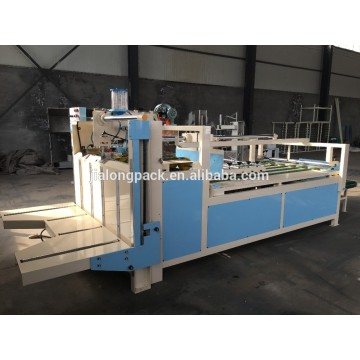Stable operation semi automatic folder and gluer machine