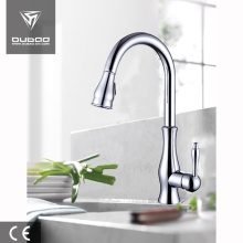 China for CUPC Bathroom Faucet Hot And Cold Water Pull Out Kitchen Faucets export to Spain Supplier