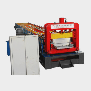 Standing seam metal roofing roll forming machine