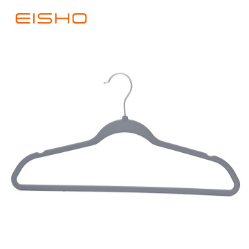 Rubber Paint Basic Grey Coat Plastic Hanger
