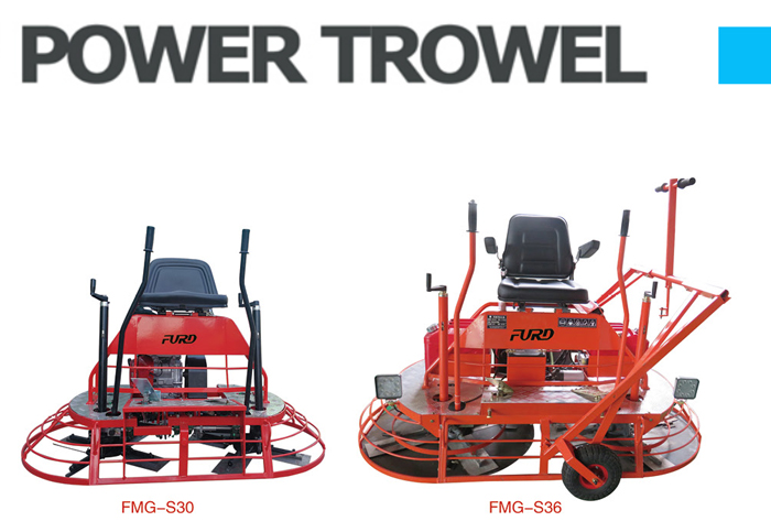Ride On Power Trowel