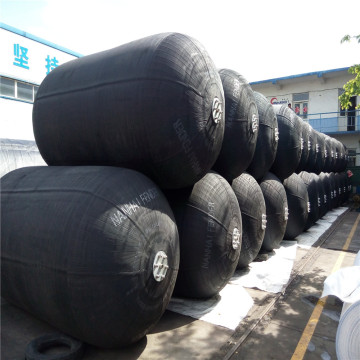 Pneumatic Rubber Fender with Tyre Chain
