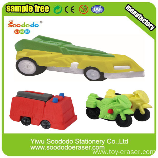Promotional  Cool Car Shape Eraser