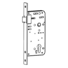 Good Quality for Storage Room Door Lock Immediate egress mortise lock with latch bolt export to Germany Wholesale