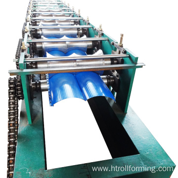 Cost-efficient building material metal wall 3d panel machine