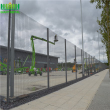 Electric Galvanized Then Powder Coating 358 Security Fence