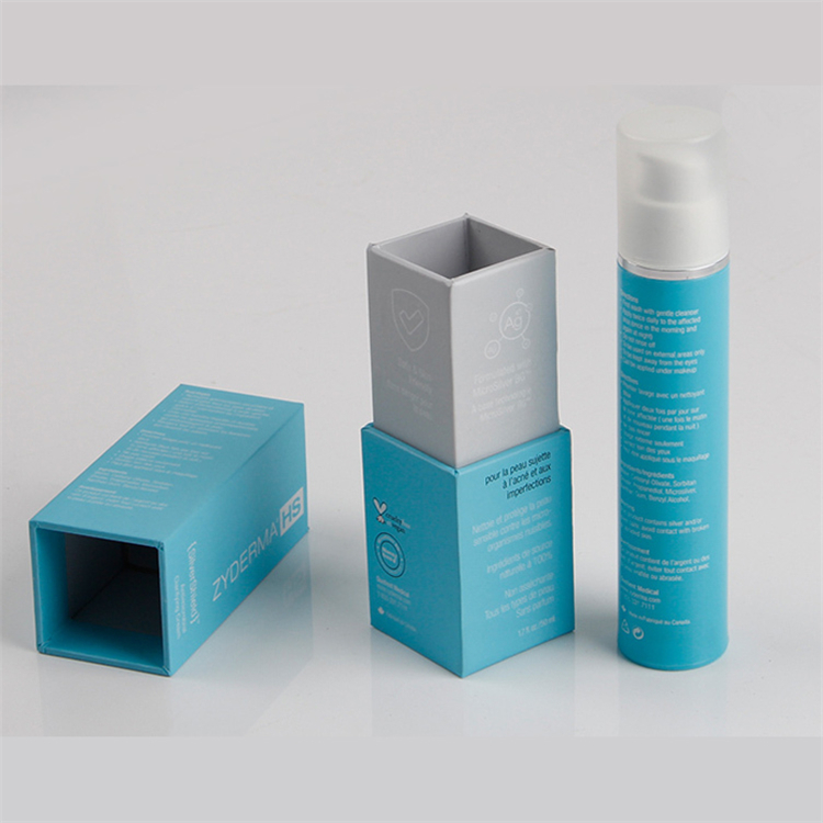 Printed Rigid Paper Face Cream Packaging Box