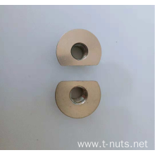 Cutting edge Circular  Stainless steel Tee nut