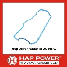 China Supplier for Non Asbestos Oil Pan Gasket Jeep Oil Pan Gasket 53007568AC supply to Cocos (Keeling) Islands Supplier