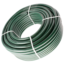 High strength fiber reinforced pvc garden hose