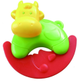 Infant Cow Shape Rattle Baby safety Bell Toy