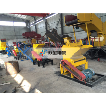 Waste Rubber Tire Crusher machine