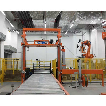 Pallet strapper with Germany sealing unit