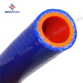 Blue Fabric Braided Silicon Rubber Steam/Heater Hose