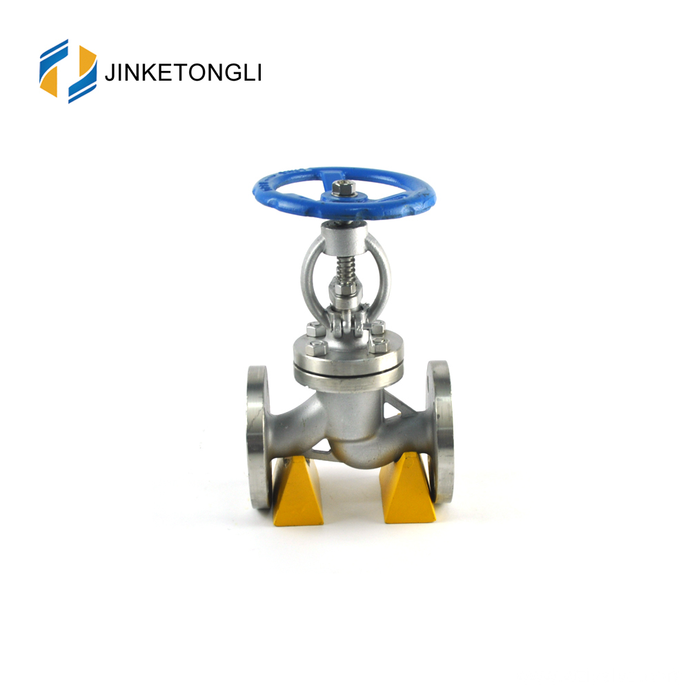 Manual flange type API Rising Stem Stainless Steel globe valve