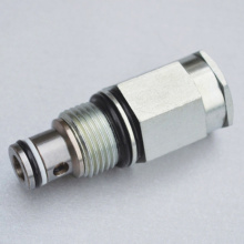 Cartridge Style Bidirectional Poppet Type Relief Valve