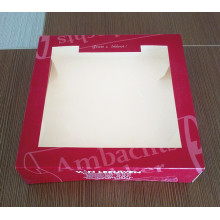 China for Window Cake Box Doughnut / Donut / cupcake box with window supply to Ethiopia Wholesale