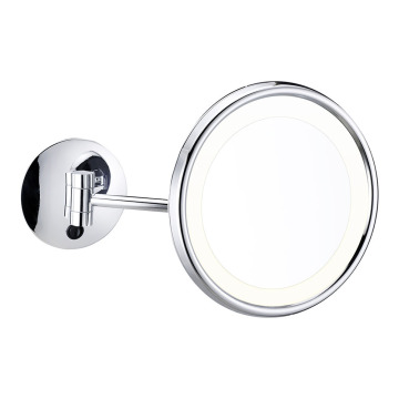 Wall mounted vanity mirror with light