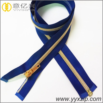 sports coat nylon open end golden zipper
