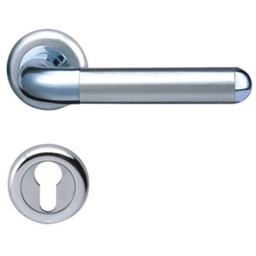 Satin Outside Door Levers